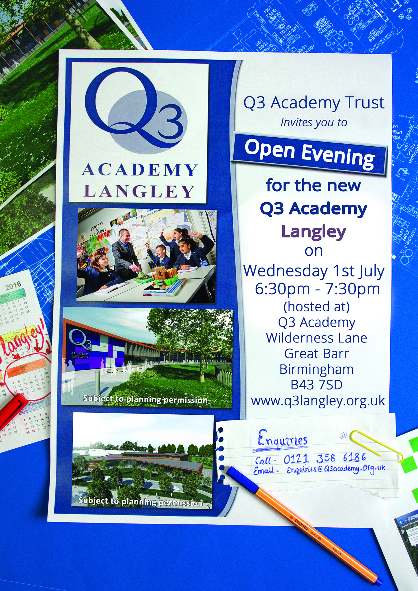 Open Evening July 2015